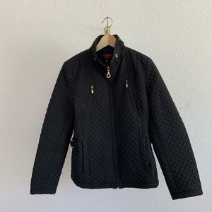 Gallery Quilted Black Jacket